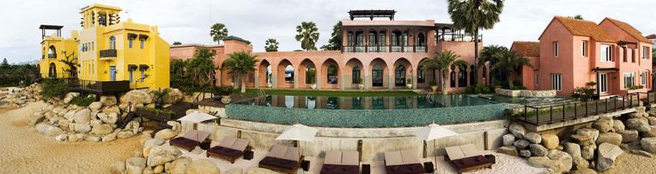 โรงแรมปราณบุรี Villa Maroc